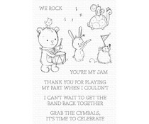 My Favorite Things You're My Jam Clear Stamps (RAM-003)