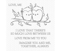 My Favorite Things You and Me Together Clear Stamps (RAM-001)