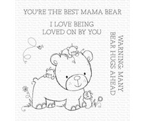 My Favorite Things Many Bear Hugs Ahead Clear Stamps (RAM-002)