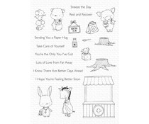 My Favorite Things Feel Better Clear Stamps (SY-29)