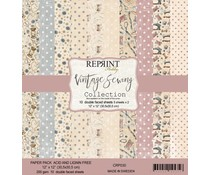 Reprint Vintage Sewing Collection 12x12 Inch Paper Pack (CRP030)