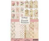 Reprint French Flowers Collection A4 Paper Pack (RBP005)