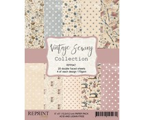 Reprint Vintage Sewing Collection 6x6 Inch Paper Pack (RPP047)