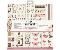 Crafter's Companion Bloom with Grace 12x12 Inch Die-Cut Topper Pad (NIT-BWG-TOP12)