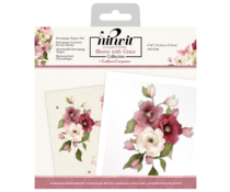 Crafter's Companion Bloom with Grace 6x6 Inch Die-Cut Decoupage Topper Pad (NIT-BWG-DTP6)