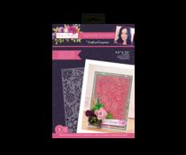 Crafter's Companion Sensational Succulents Embossing Folder Succulent Frame (SCC-AF-SS-EF-SF)