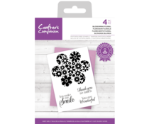 Crafter's Companion Blossoming Floral Clear Stamps (CC-STP-BLFLOR)