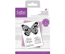 Crafter's Companion Perfect Butterfly Clear Stamps (CC-STP-PERBUT)
