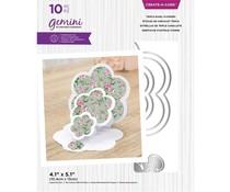 Gemini Triple Easel Flowers Create-a-Card Dies (GEM-MD-CAD-TEFL)