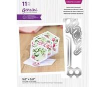 Gemini Triple Easel Hexagons Create-a-Card Dies (GEM-MD-CAD-TEHX)