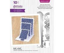Gemini Triple Easel Ornate Frames Create-a-Card Dies (GEM-MD-CAD-TEOF)