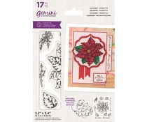 Gemini December Poinsettia Stamp & Die (GEM-STD-DECPOIN)