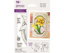 Gemini March Daffodil Stamp & Die (GEM-STD-MARDAF)