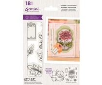 Gemini November Chrysanthemum Stamp & Die (GEM-STD-NOVCHRY)