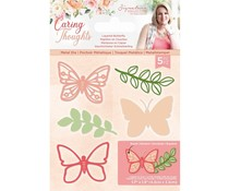 Crafter's Companion Caring Thoughts Metal Dies Layered Butterfly (S-CT-MD-LBUT)