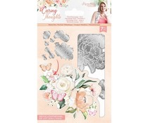 Crafter's Companion Caring Thoughts Metal Dies Floral Decoupage Set 2 (S-CT-MD-FLDEC2)