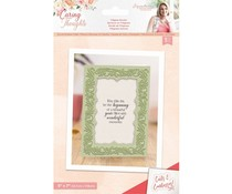 Crafter's Companion Caring Thoughts Cut and Emboss Folder Filigree Border (S-CT-CEF-FBORD)