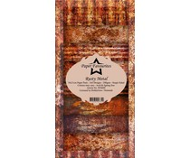 Paper Favourites Rusty Metal Slim Paper Pack (PF009)