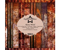 Paper Favourites Rusty Metal 6x6 Inch Paper Pack (PF163)