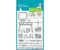 Lawn Fawn Virtual Friends Clear Stamps (LF2504)