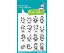 Lawn Fawn Tiny Friends Clear Stamps (LF2506)