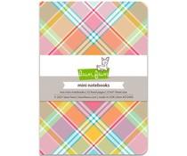 Lawn Fawn Perfectly Plaid Remix Mini Notebooks (LF2493)