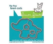 Lawn Fawn Elphie Selfie Flip-Flop Dies (LF2515)