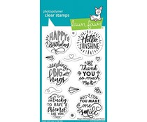 Lawn Fawn Magic Messages Clear Stamps (LF2508)