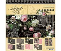 Graphic 45 Elegance 12x12 Inch Collection Pack (4502195)