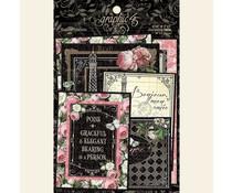 Graphic 45 Elegance Ephemera & Journaling Cards (4502199)