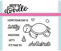 Heffy Doodle Shellabrate Clear Stamps (HFD0064)
