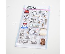 Heffy Doodle You Go, Gull Clear Stamps (HFD0277)