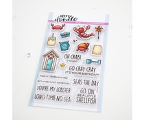 Heffy Doodle A Little Shellfish Clear Stamps (HFD0275)