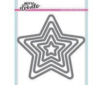 Heffy Doodle Stitched Stars Dies (HFD0174)