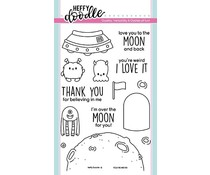 Heffy Doodle You're Weird Clear Stamps (HFD0171)