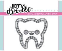 Heffy Doodle Tooth Plush Dies (HFD0148)