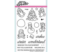 Heffy Doodle Wanna Build A Snowman Clear Stamps (HFD0087)