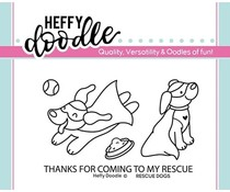 Heffy Doodle Rescue Dogs Clear Stamps (HFD0142)