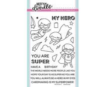 Heffy Doodle Superdudes Clear Stamps (HFD0120)