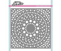Heffy Doodle Ring A Rosies Stencil (HFD0119)