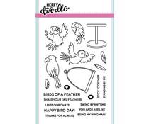 Heffy Doodle Wingman Clear Stamps (HFD0055)