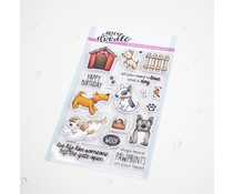 Heffy Doodle Who Let the Dogs Out Clear Stamps (HFD0300)