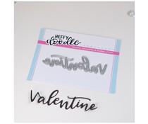 Heffy Doodle Valentine Dies (HFD0252)