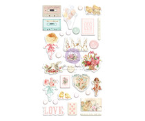 Prima Marketing Magic Love Puffy Stickers (996802)