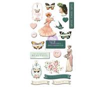 Prima Marketing My Sweet Puffy Stickers (997076)