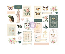 Prima Marketing My Sweet Chipboard Stickers (997038)