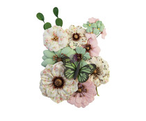 Prima Marketing My Sweet Flowers Sewn With Love (652845)