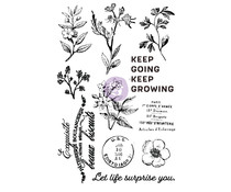 Prima Marketing Nature Lover Clear Stamp (651602)