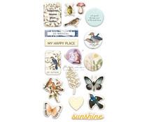 Prima Marketing Nature Lover Puffy Stickers (648077)