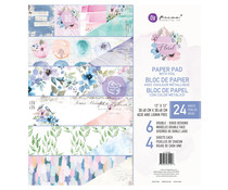 Prima Marketing Watercolor Floral 12x12 Inch Paper Pad (651428)